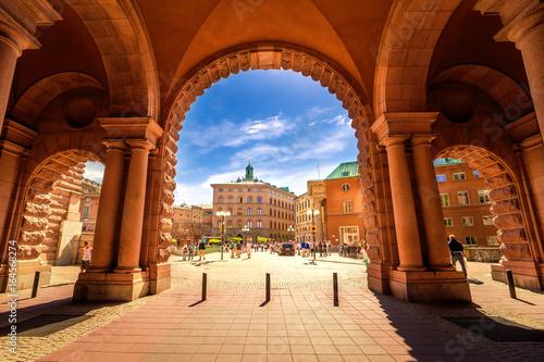 Foto op Canvas Stockholm Stockholm Palast
