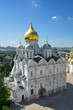 The Archangel Cathedral on the Sobornaya square of the Moscow Kremlin, Moscow, Russia