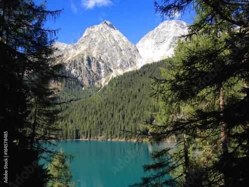 Bergsee in den Alpen