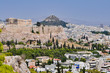 Panorama of the city of Athens in Greece - 164580492
