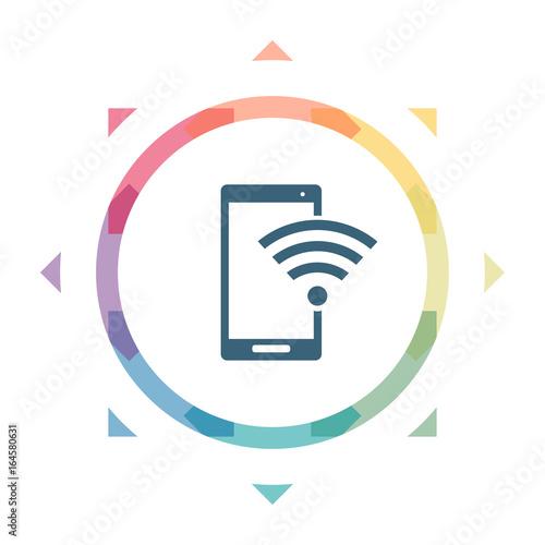 GamesAgeddon - buntes Symbol - Smartphone Verbindung - Lizenzfreie ...