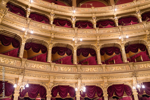 Papiers peints Budapest Interior of Hungarian opera in Budapest