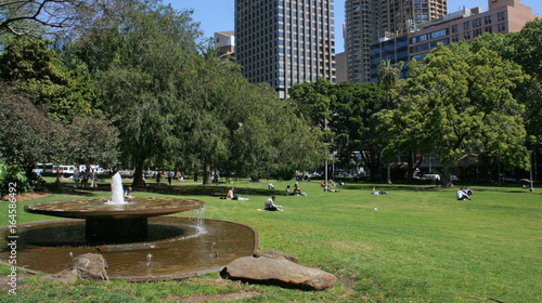 Hyde Park in Sydney