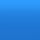 Blue halftone dot pattern background - vector design from circles in varying sizes