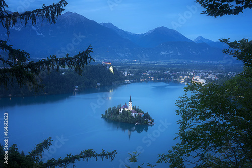Bled Lake National Park Slovenia