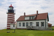West Quoddy Lighthouse full view, Maine