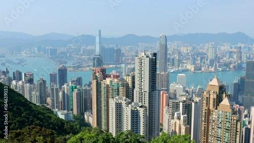 The peak, Hong Kong, 28 May 2017 -: Hong Kong city © leungchopan
