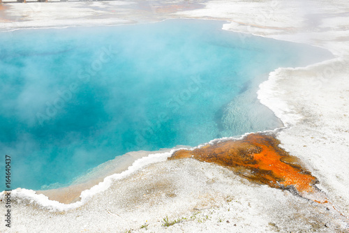 Black Pool Hot Spring Yellowstone