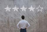 reputation management concept, feedback rating - 164646463