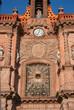 Detail cathedral San Luis Potosi, Mexico