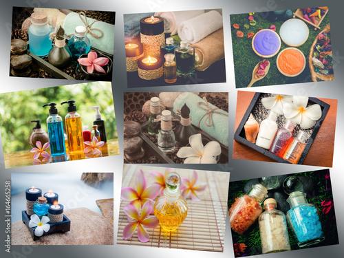 Spa Collage,spa concept