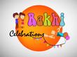 Illustration of background for the occasion of Indian festival Raksha Bandhan - 164667832