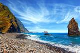 Fantastycznie piękne wybrzeże Madery