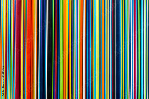Cotton fabric Colorful lines
