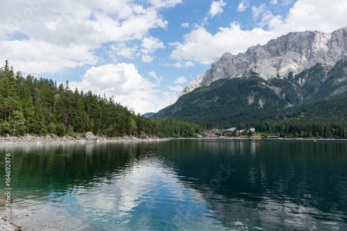 Eibsee, Bergsee in den bayrischen Alpen