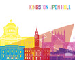 roleta: Kingston Upon Hull skyline pop