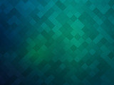 abstract green mosaic background - 164707814