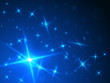 stars abstract blue background