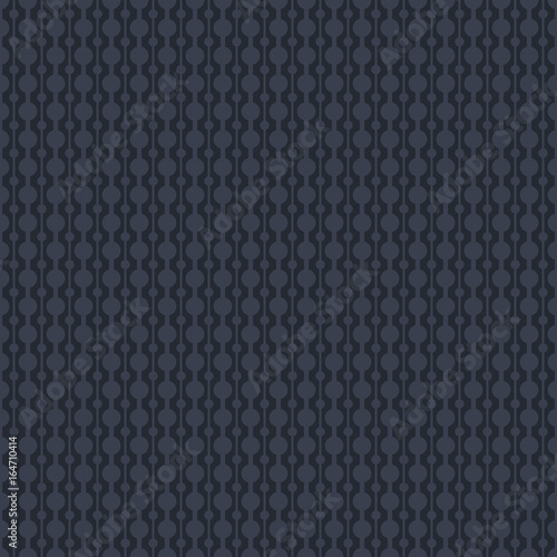 Vector black elegant geometric seamless pattern. Ornamental seamless background. Oriental pattern