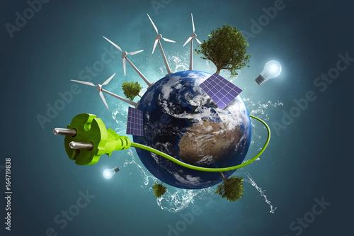 Grüne Energie Poster
