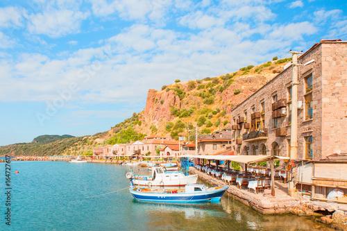 Foto op Canvas Europa Assos (Behramkale) Ancient Harbor
