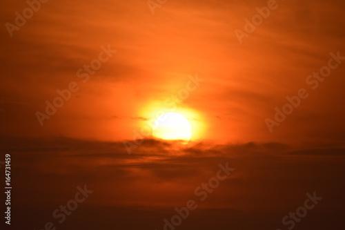 Papiers peints Orange eclat sunset moods
