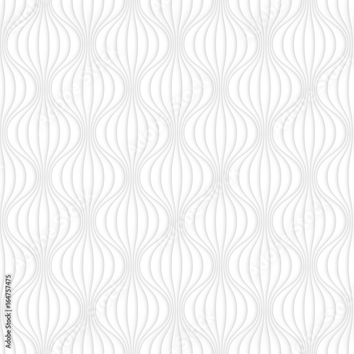 Light gray seamless vector pattern for your design. - 164757475