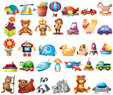 Different types of toys - 164791844