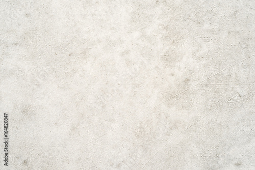Plastered concrete wall, white background