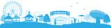 Oktoberfest Skyline Panorama - 164828648