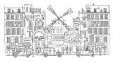 Paris, Moulin rouge - 164836260