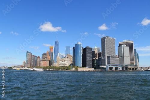 Manhattan New york central park bus yellow usa united states food natural © Romain