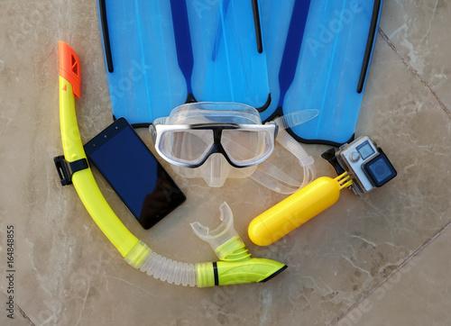 Underwater photographer kit