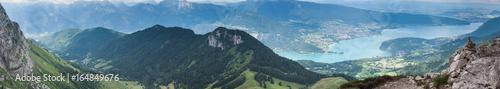 Papiers peints Photos panoramiques Lac d'Annecy vu de la Tournette