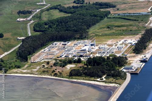 Erdgasleitung Opal in Lubmin
