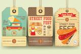 Street Food Festival Price Tags - 164859008