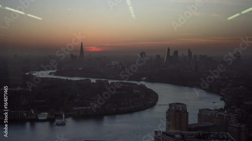 London Timelapse Sundown