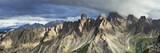 Panorama Dolomii w Alpach we Włoszech