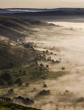 English Misty Sunrise
