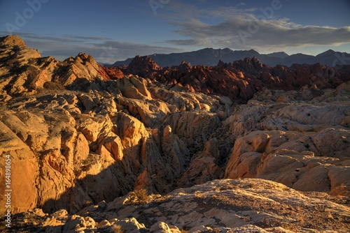 Sunset in the Fire Canyon, Valley of Fire