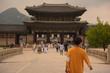 korea traditional palace , gyeongbokgung