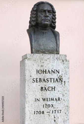 Büste von Johann Sebastian Bach in Weimar