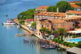 View of Giudecca Island in Venice, Italy