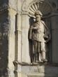 Portugal - Coimbra - Ancienne cathédrale, Statue mur extérieur nord