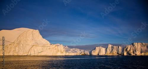 Staande foto Nachtblauw Greenland
