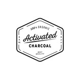 one hundred organic activated charcoal guarantee logo