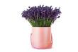Pink lavender pot