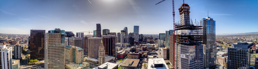 Downtown Denver Wide Cityscape © Andrew