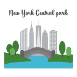 The Central Park of New York city