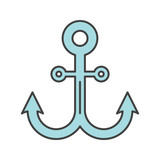 Anchor color icon
